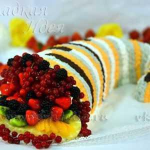 Фруктовый торт Рог Изобилия