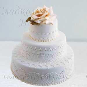 Торт на свадьбу 007276