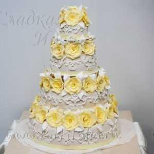Торт свадебный 004328