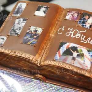 Торт Семейный фотоальбом