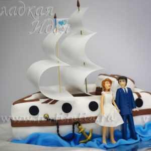 Торт Семейный корабль