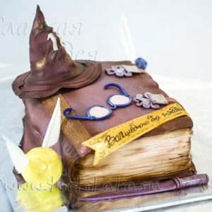 Торт Волшебная книга