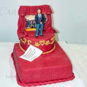 Торт на заказ Театр
