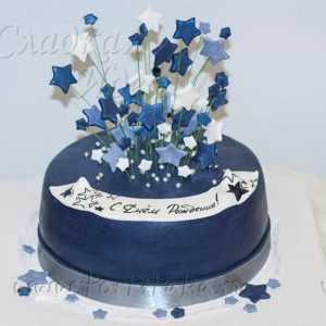 Торт на заказ Салют