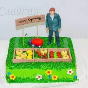 Торт на заказ Дачник (Копировать)