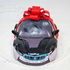 Торт Черный БМВ