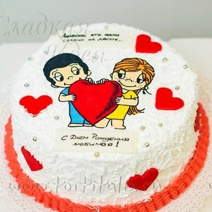 Торт Любимое сердце