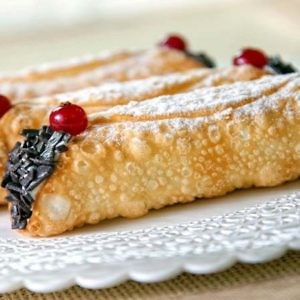 Пирожное Сицилийская трубочка