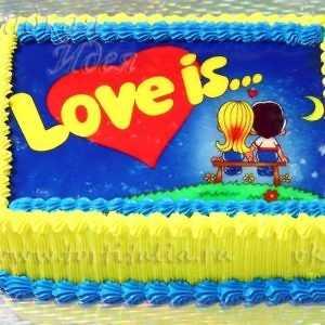 Праздничный торт Любовь